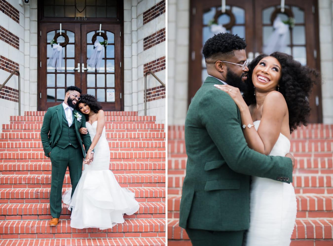 Houston Wedding- Pharris Photography- Couple- Lorece + Jeremy- Bride & Groom