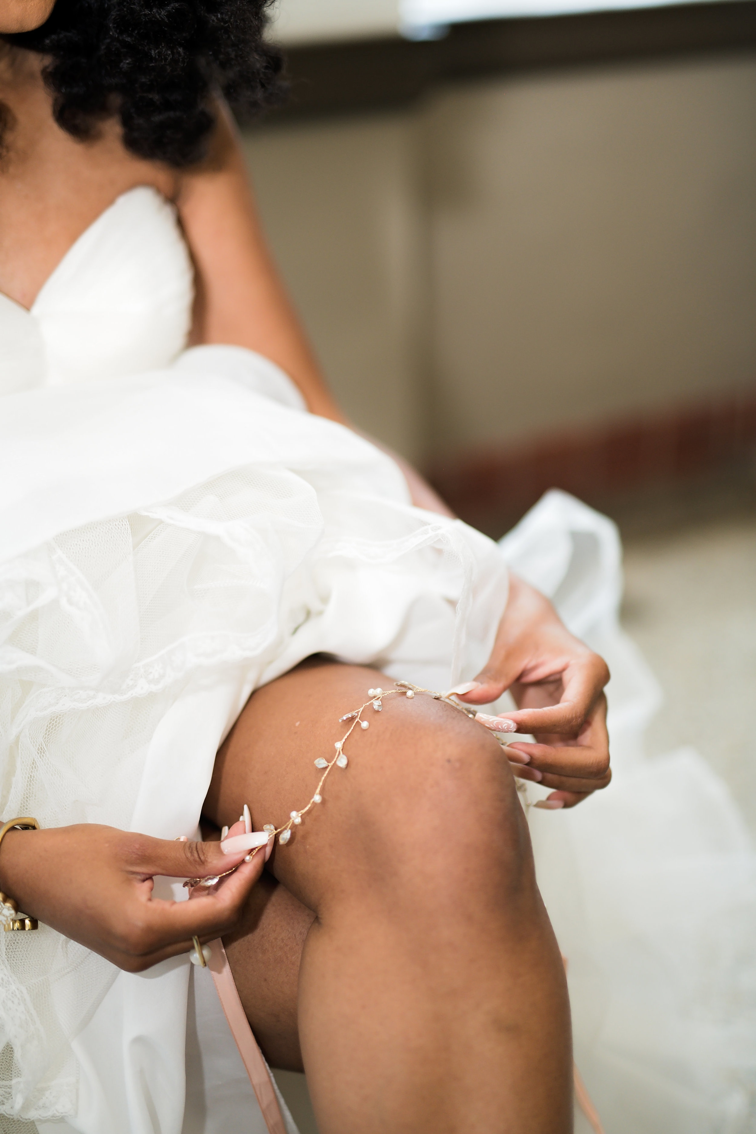 Houston Wedding- Pharris Photography- Getting Ready- Lorece + Jeremy -Bride- Jewelry