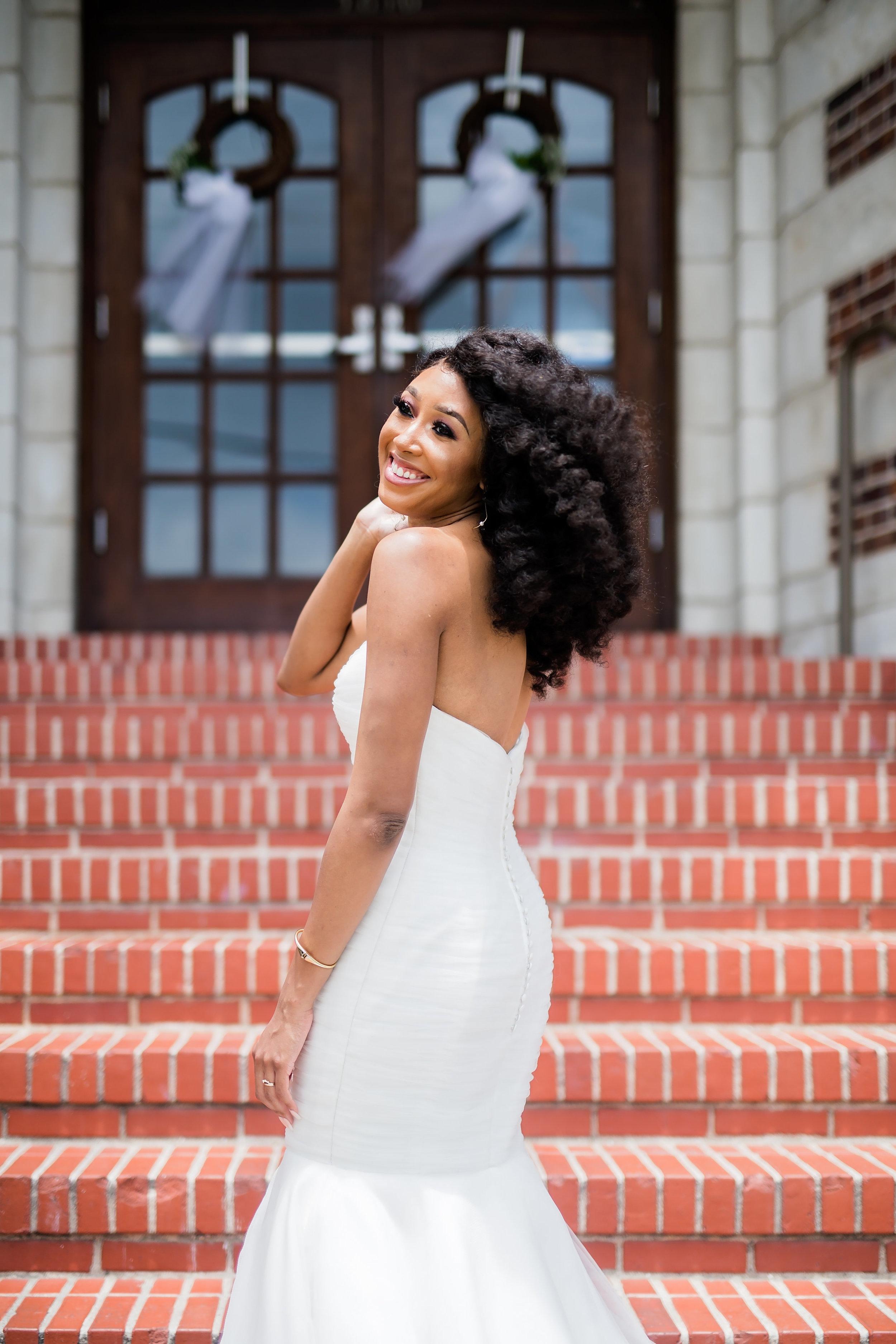Houston Wedding- Pharris Photography- Lorece + Jeremy- Bride