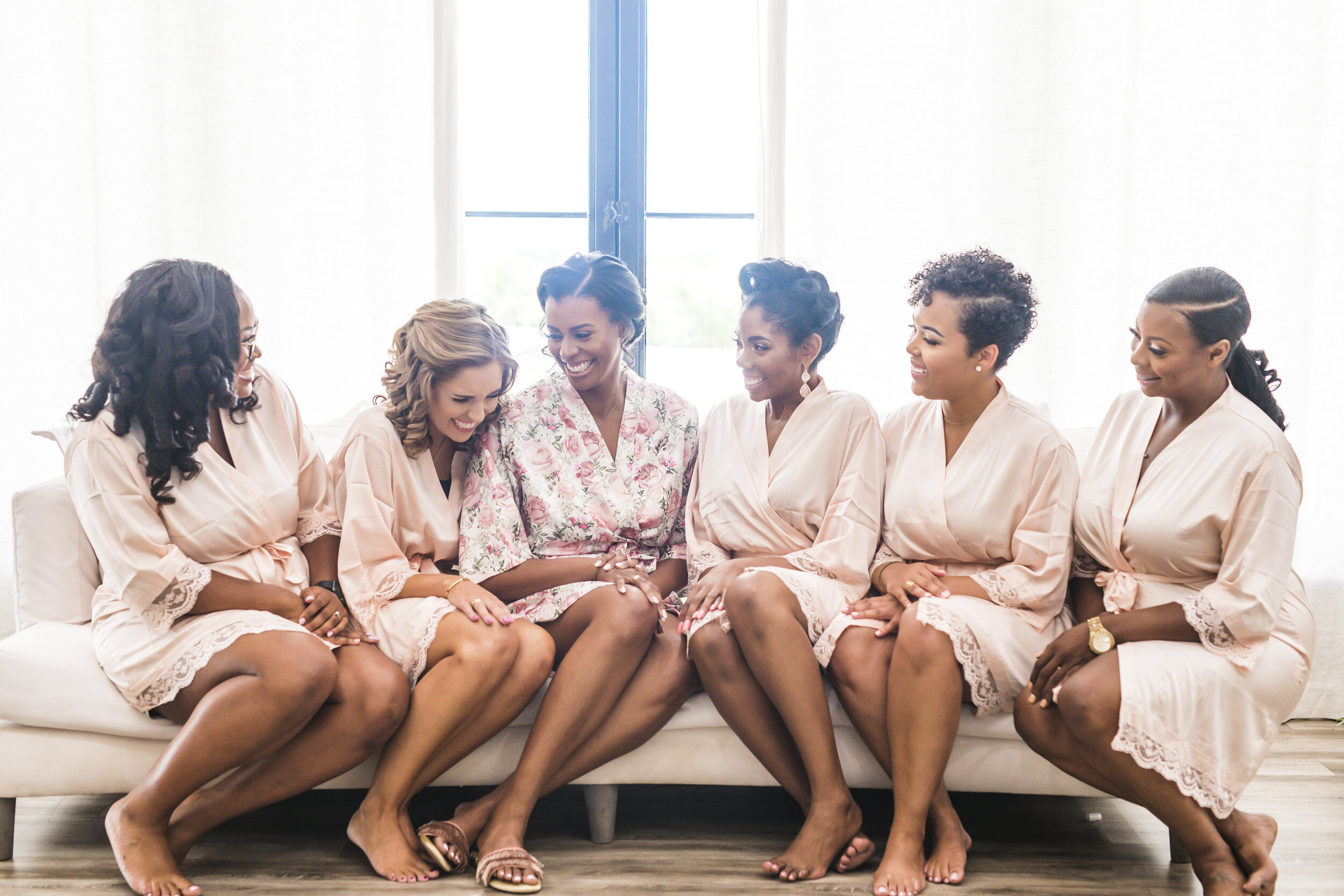Dallas Wedding- Pharris Photography- Getting Ready- Alexiss + Chaz- Bridesmaids