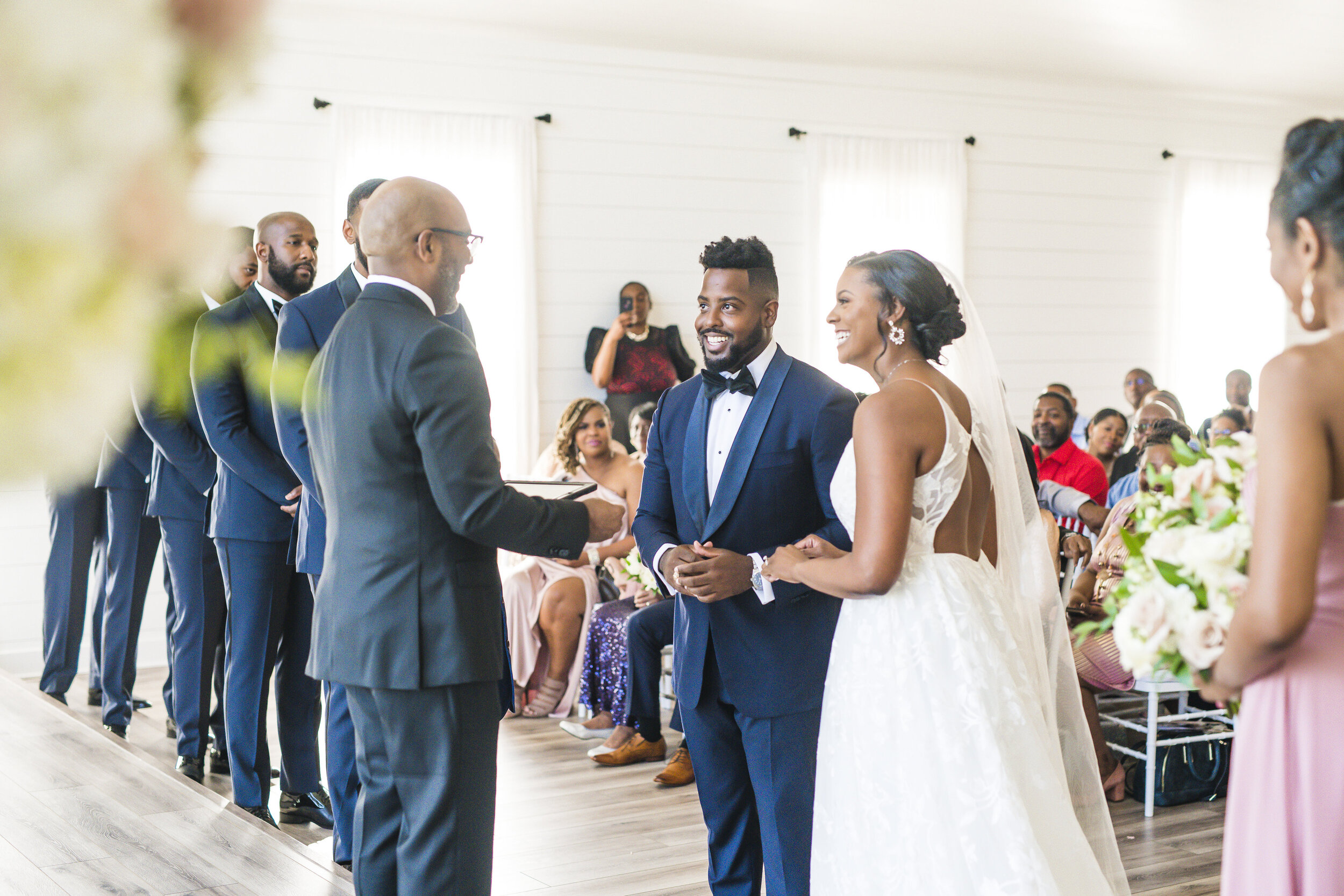 Dallas Wedding- Pharris Photography- Ceremony- Alexiss + Chaz- The Altar