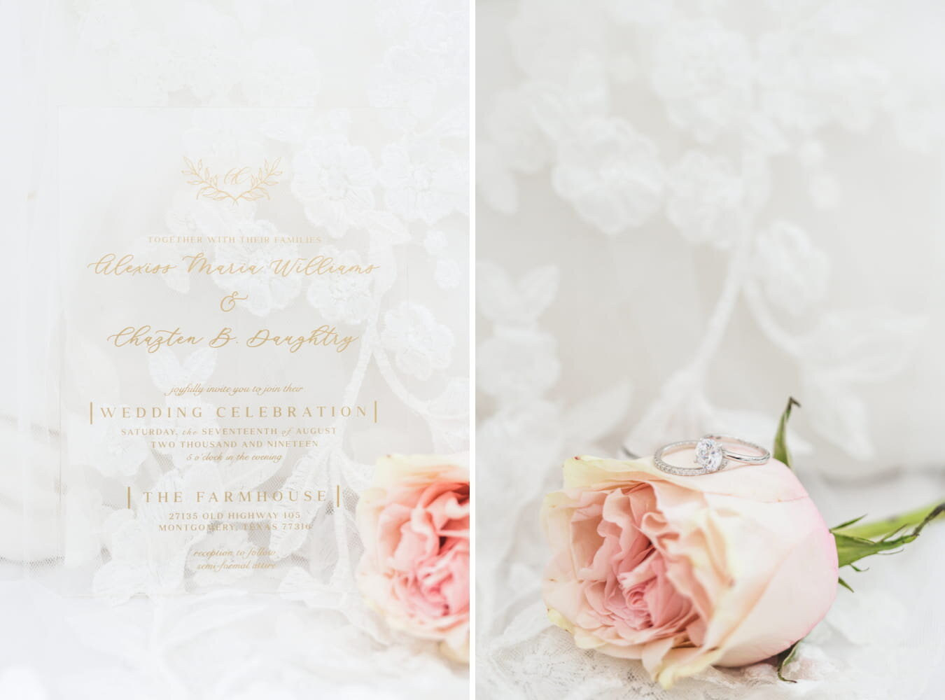 Dallas Wedding- Pharris Photography- Details- Alexiss + Chaz- Wedding Suite