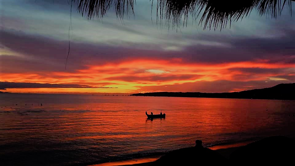 Sunset in Bucerias, Mexico. January 2019