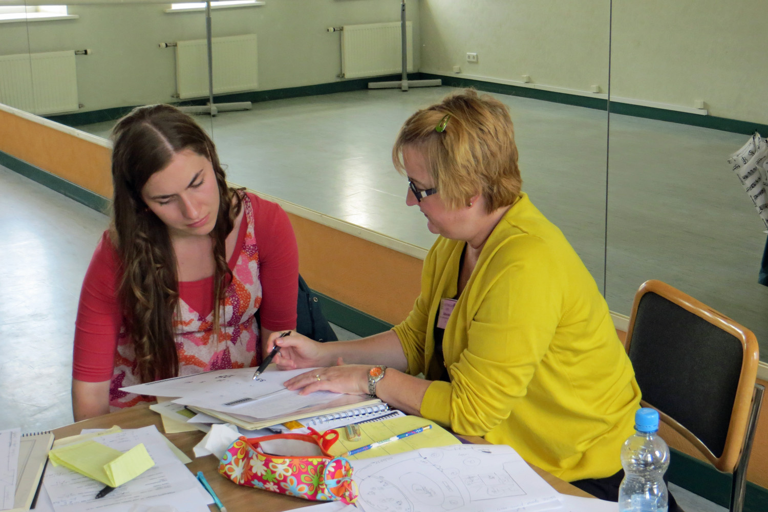 """Teaching Cage's """"Song Books"""" in Sigulda, Latvia"""