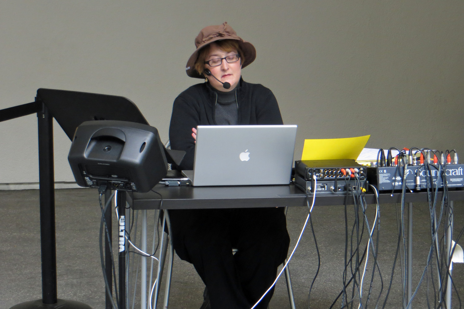 "Performing Cage's ""Song Books"" at the Hammer Museum, Los Angeles"