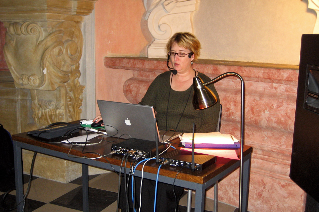 """Performing Cage's """"Song Books"""" in Olomouc, Czech Republic"""