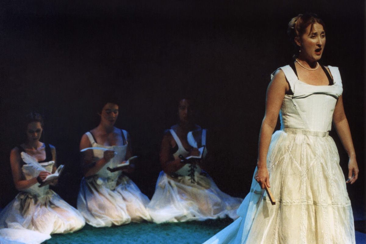 "In the opera ""Orlando"" by Martin Herman"
