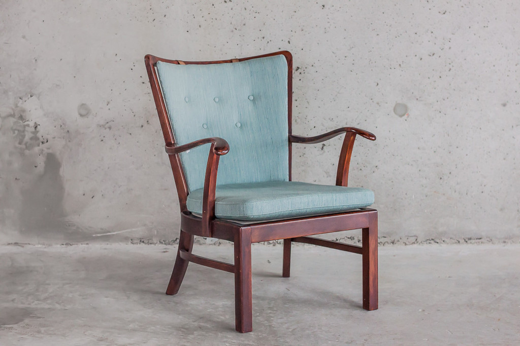 A beautiful mahogany armchair from Mostly Danish.