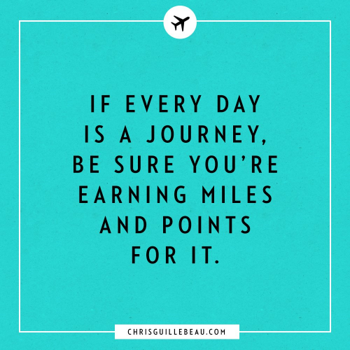 From entrepreneur and travel blogger Chris Guillebeau's  Facebook page. It's effective, not complicated.