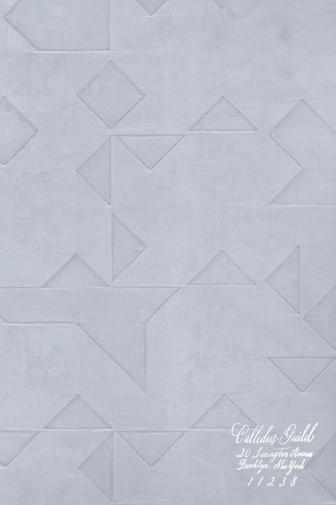 WP-1238 Folded Origami - Periwinkle