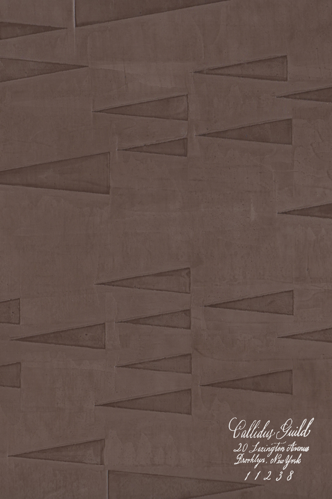 WP-1228 Pennant - Chocolate
