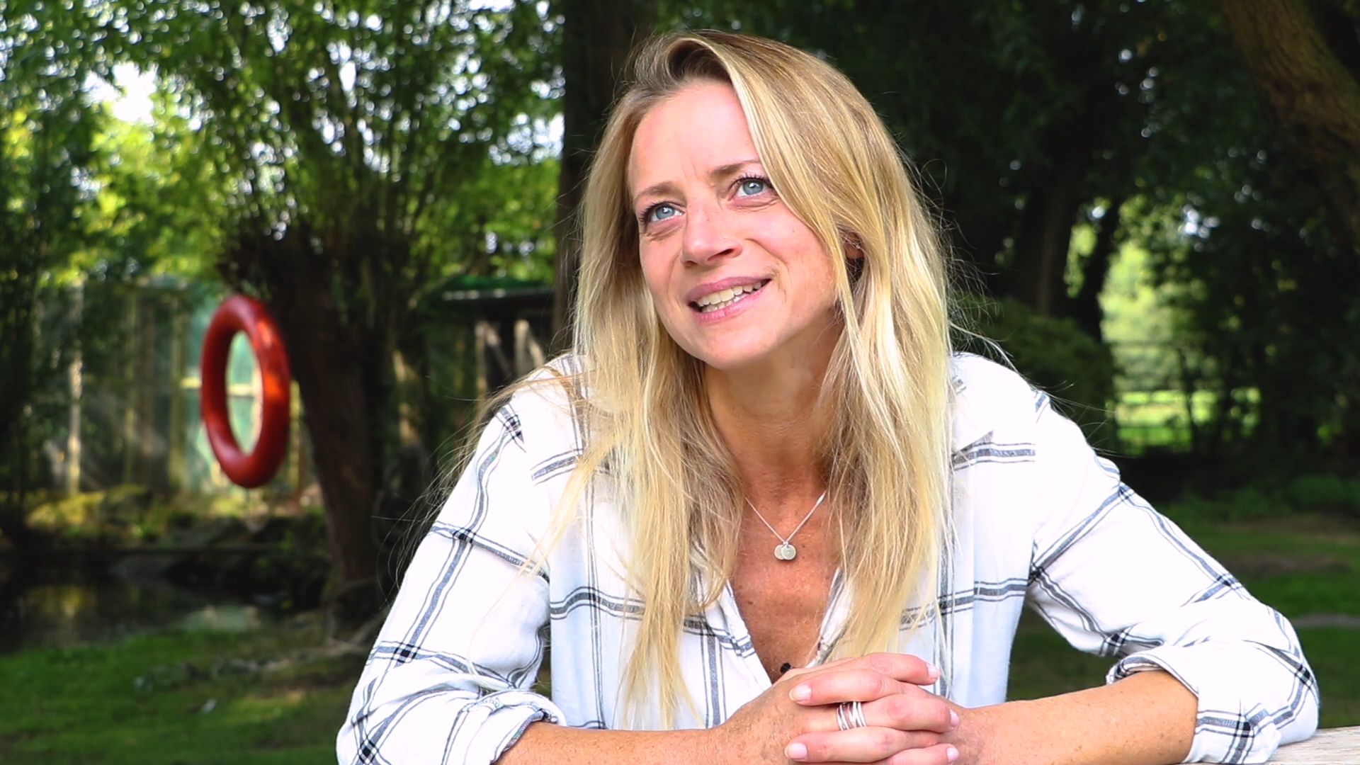Lou Cowell, daughter of Simon Cowell CEO and Founder of the Wildlife Aid Foundation in Leatherhead describes what it was like growing up around the wildlife foundation.