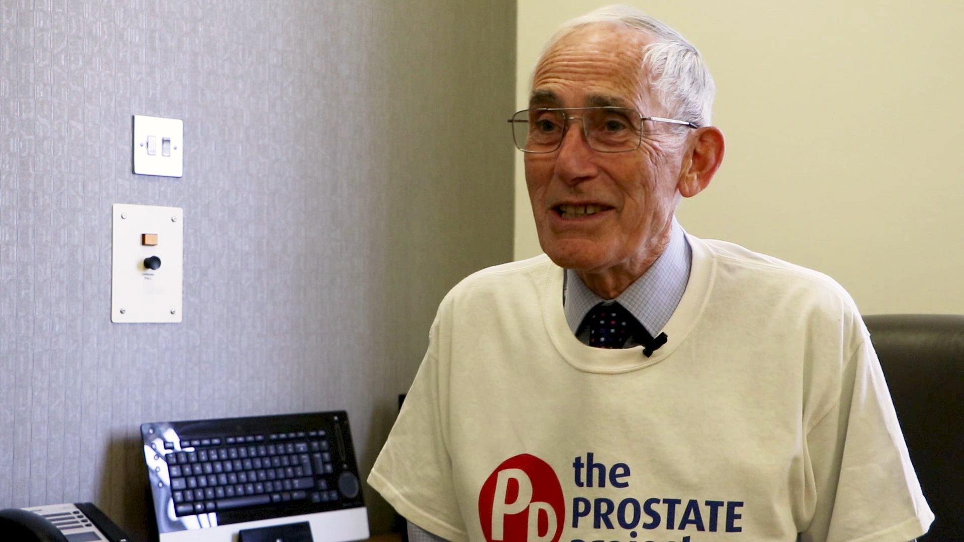 Colin Stokes is the founder of the Prostate Project, the charity behind the Royal Surrey County Hospital's new centre of urology.