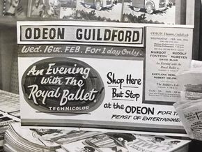 You could see anything at the Guildford Odeon, from 'An Evening With The Royal Ballet in Technicolor' to 'The Nightmare On Elm Street'.