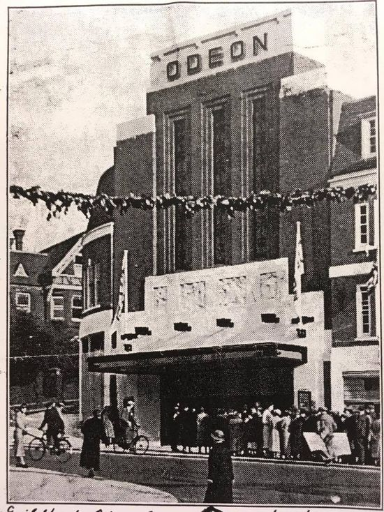 The Guildford Odeon opened on 13th May 1935.