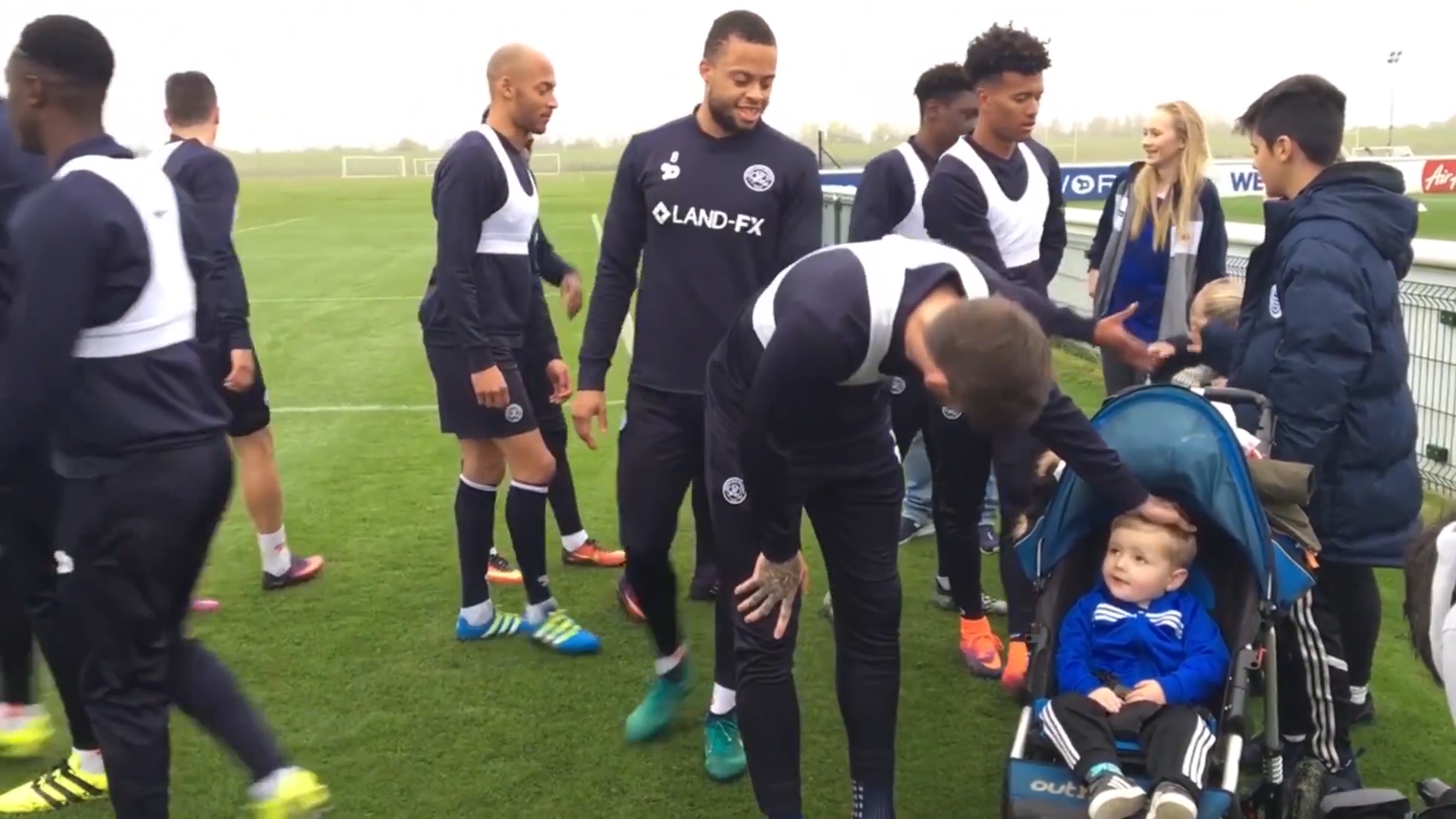 Queen's Park Rangers Football Team, QPR, invited the Together For Freddie Team and the Hunt Family To Visit The Club For A Day.