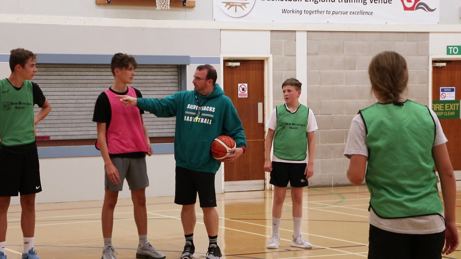 Pete Daines, Basketball Coach at Yateley Manor School set up his club the Yateley Silverbacks in 2015.