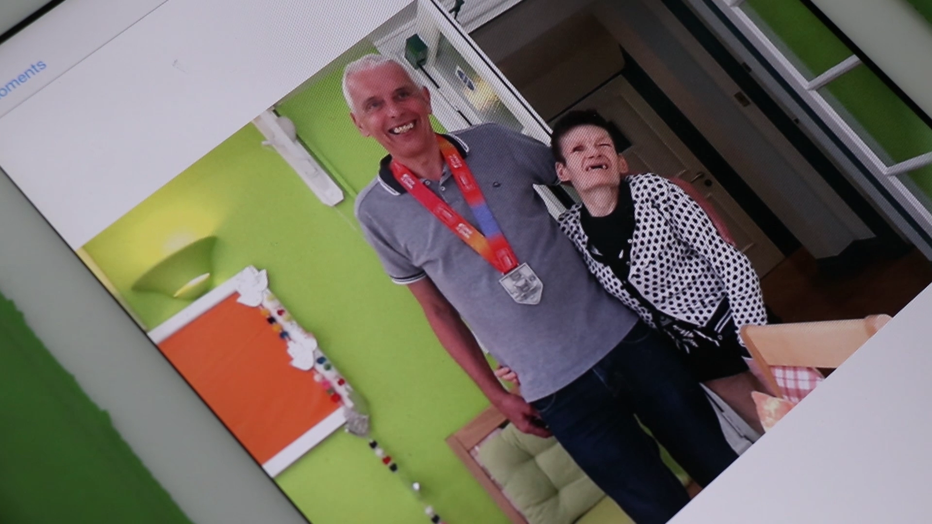 Ray is 69 and has just completed his 19th Marathon for See Ability Denecroft a home in Guildford Town Centre that supports 6 adults with sight loss