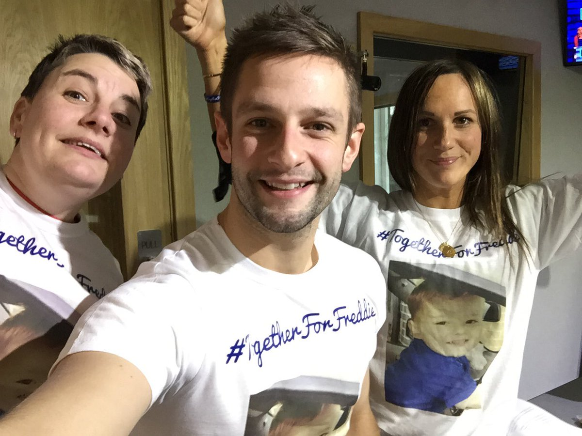 Surrey and Hampshire's Eagle Radio dedicated 4th November 2016 to Freddie Hunt, a 2-year-old from Yateley who was diagnosed with an inoperable brain tumour.