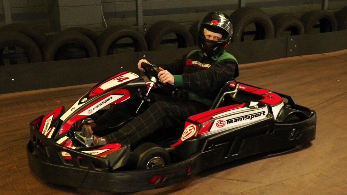 Get kitted out in your racing colours and pick a helmet before you set out on the Team Sport Karting course, one of the things to do in Surrey for pertrolheads.