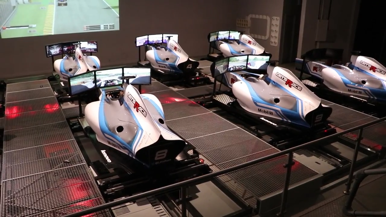 Let's Race in Horley is one of the things to do in Surrey for  Formula One Fans, try their top F1 simulators as used for training by racing professionals.