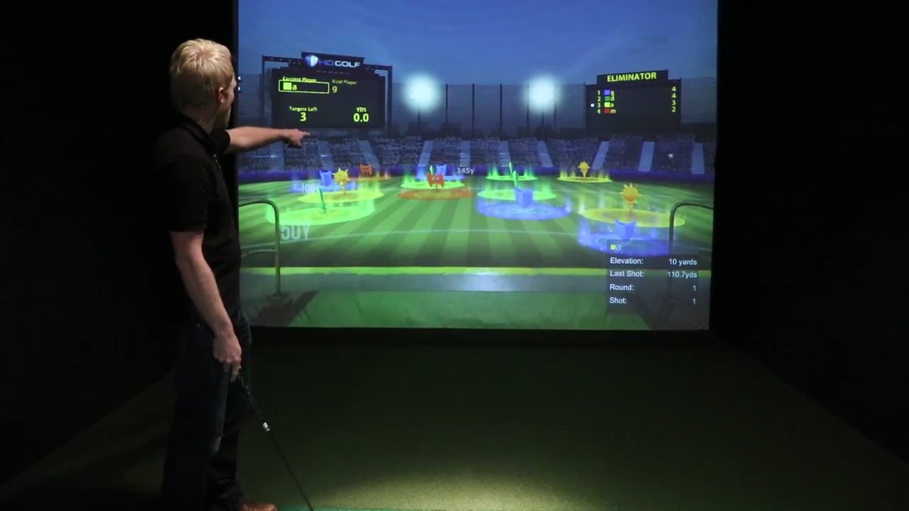 Let's Golf in Horley is ones of the best things to do in Surrey if you want to perfect your golf swing on some of the best courses across the world in the virtual HD simulator.