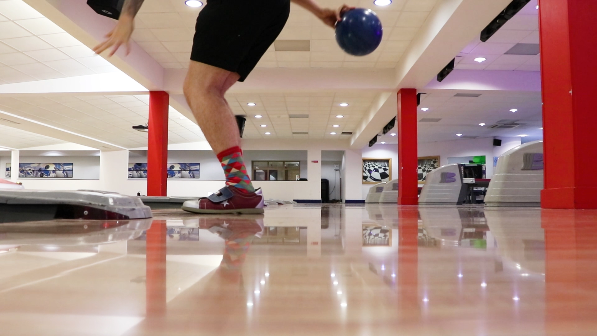 If you're looking for things to do in Surrey with the kids then Bowling at Farnborough Bowl is a must.