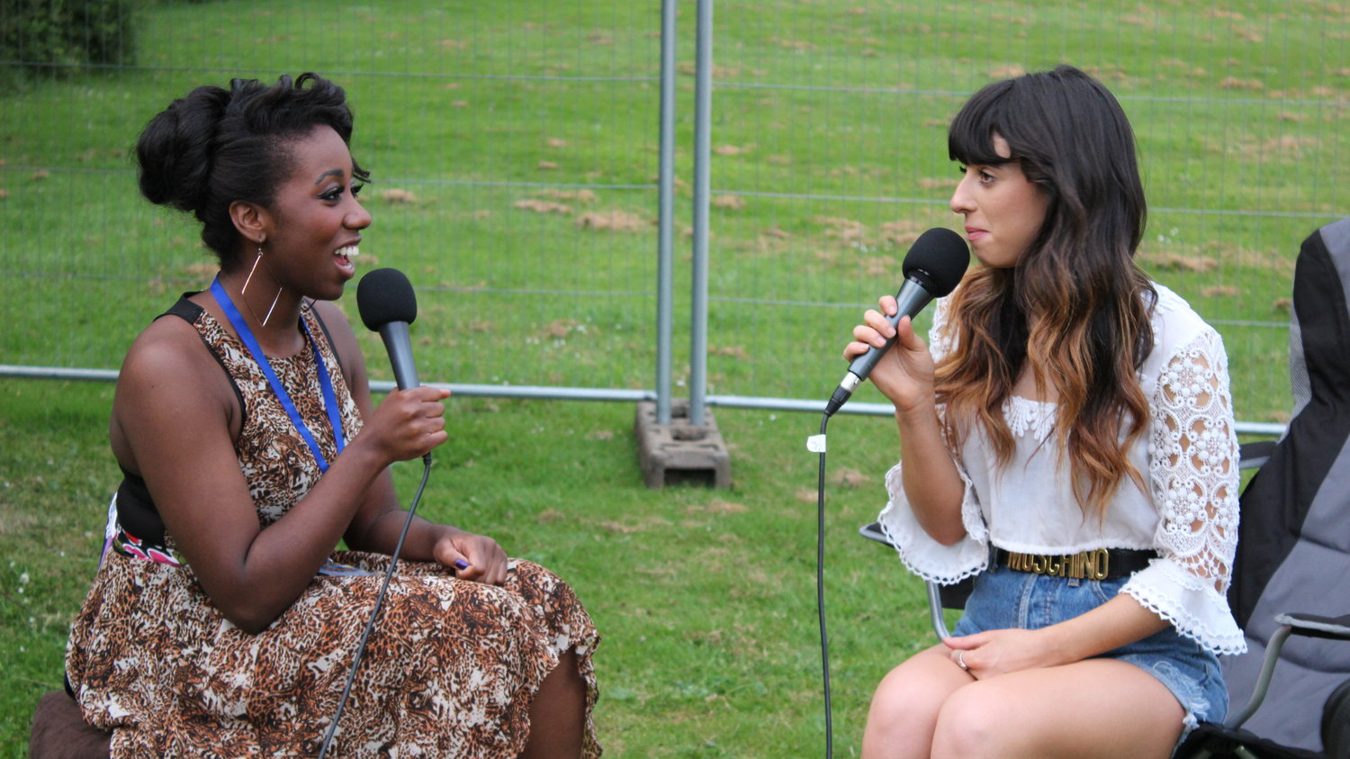RaW 1251AM's Lauren Holgate talks to Foxes at Warwick University's Free Festival For Undergraduates, The Warwick Summer Party in 2014.