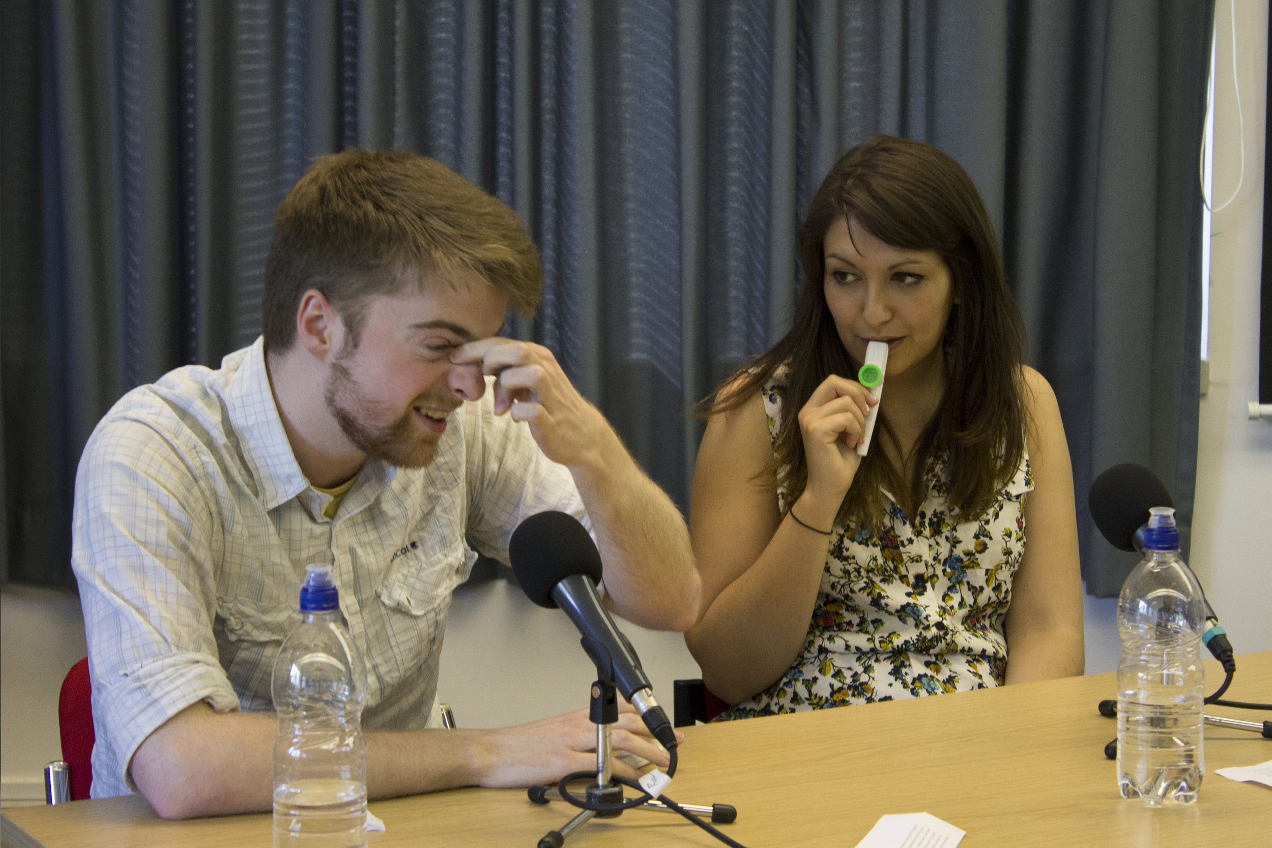 Ed Clark and Amy Johnson on The Quizzical Look