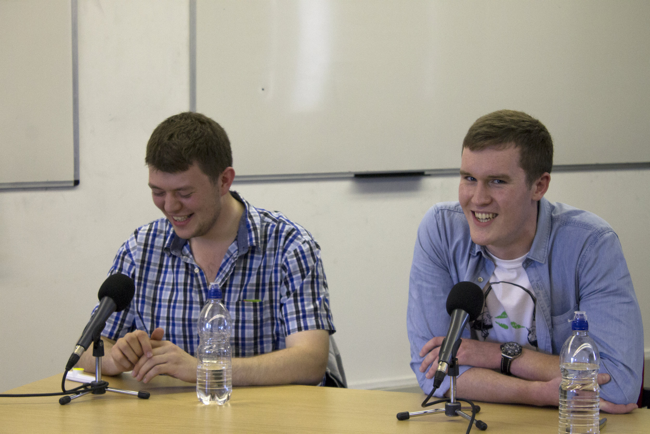 Phillip Stoneman and Will Dove on The Quizzical Look