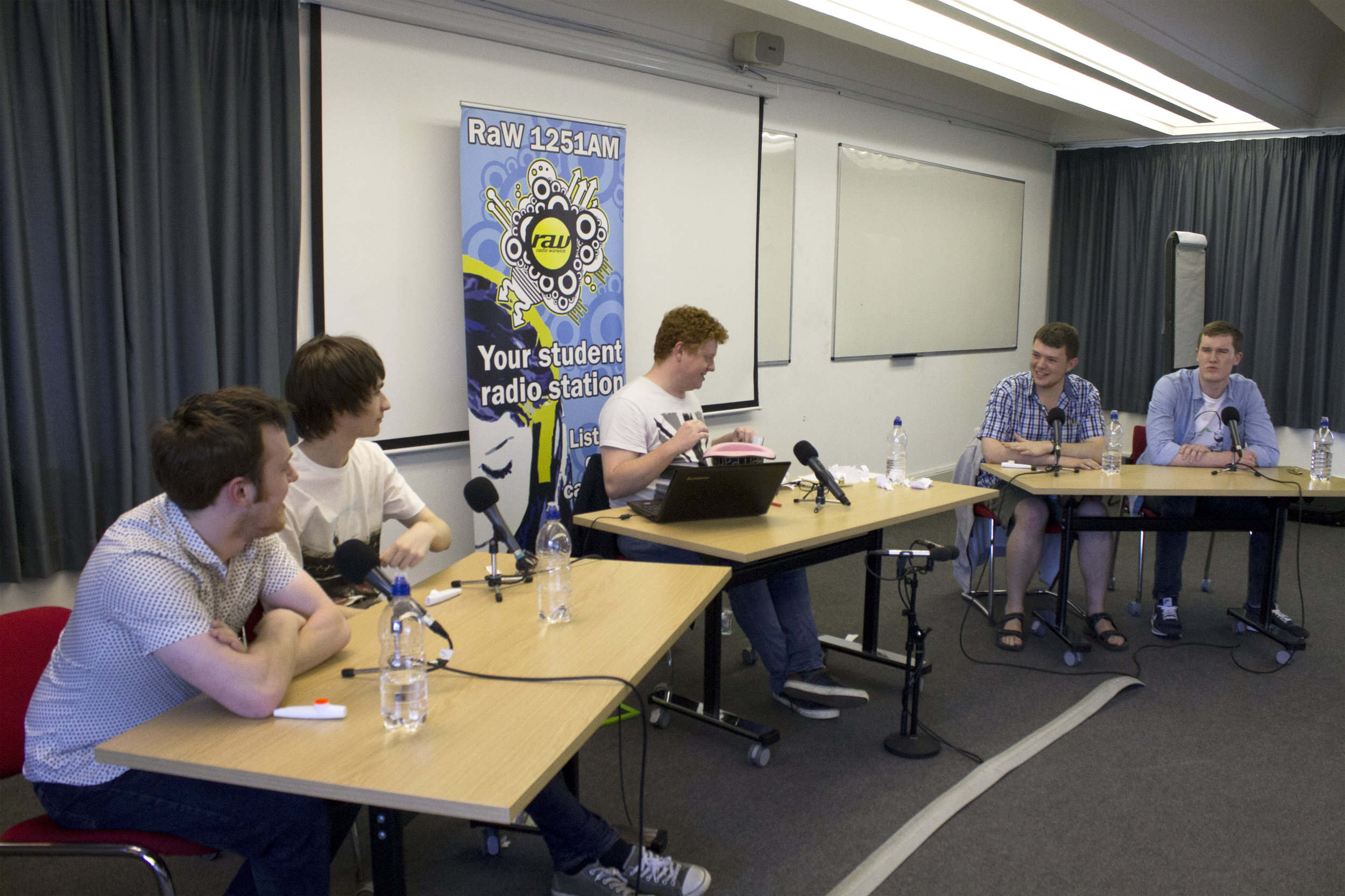 The Quizzical Look set at Warwick University