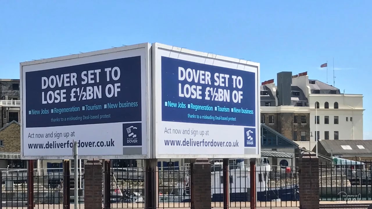 Dover Harbour Board Launches Goodwin Sands SOS Advertising Campaign