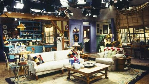 An easy one.. can you name the sitcom in which this set stars?
