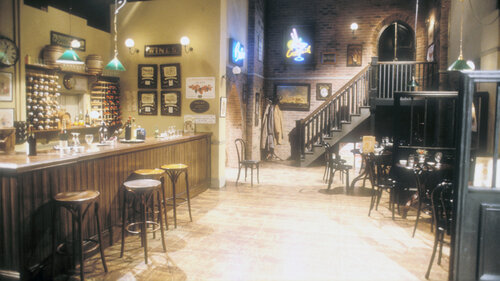 You've definitely seen this one but you might not recognise it! Which sitcom is this set from?