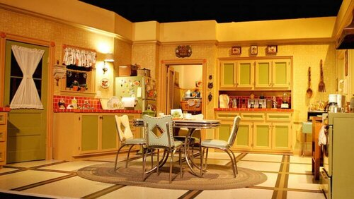 Which bright sitcom did this set feature in?
