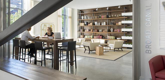 Lounge | Watermark Kendall East, 250 Kendall St, Cambridge, MA
