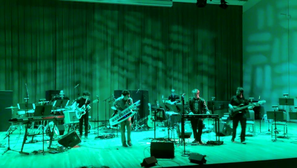 Performing my debut album  The Terrestrial Orchestra  live in its entirety at Gusman Concert Hall in Miami, FL.