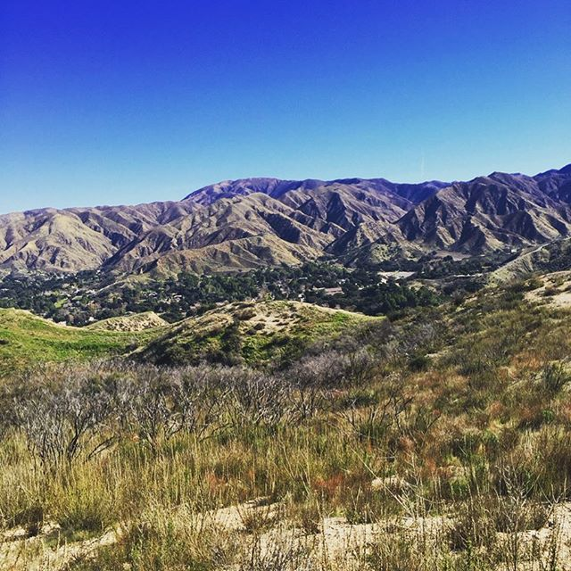 Deep in the mountains of Santa Clarita