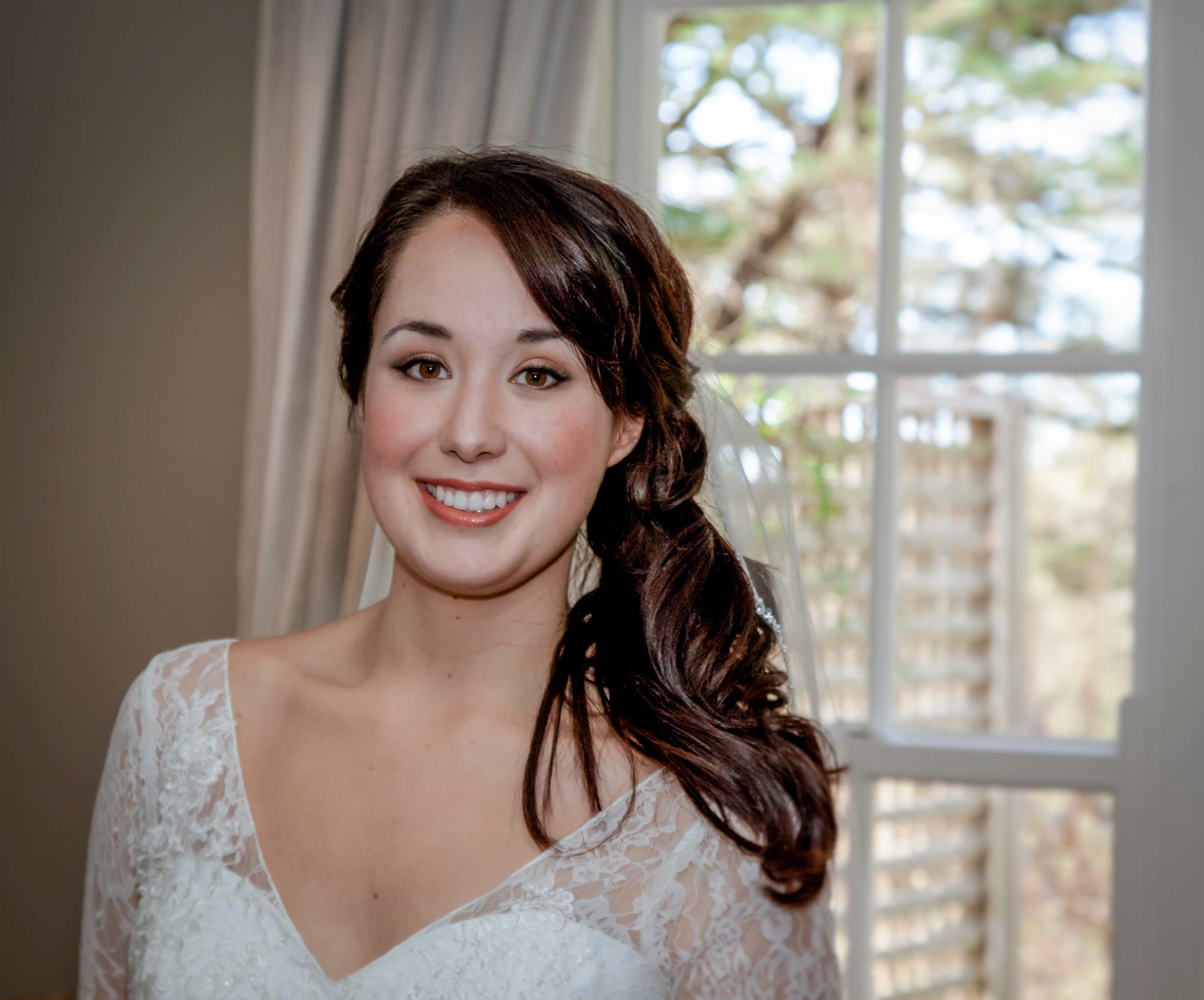 Natural Blue Mountains Bride