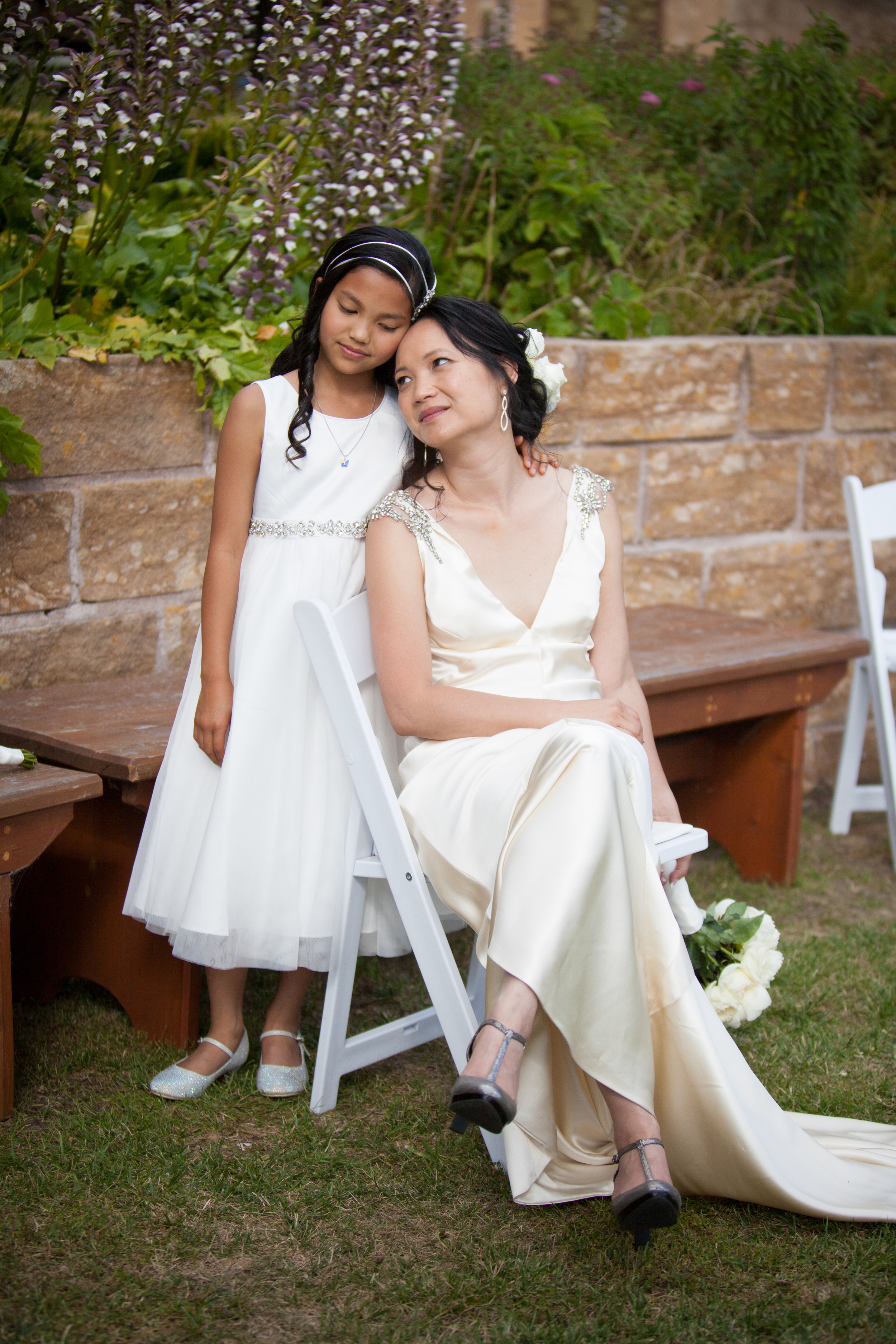 Bride and Daughter Katoomba