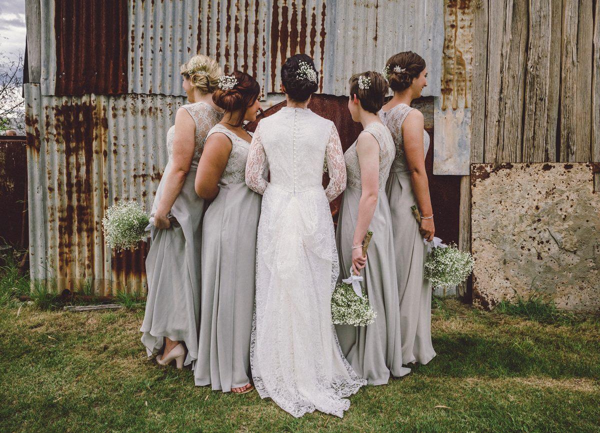 Blue Mountains Wedding Hair