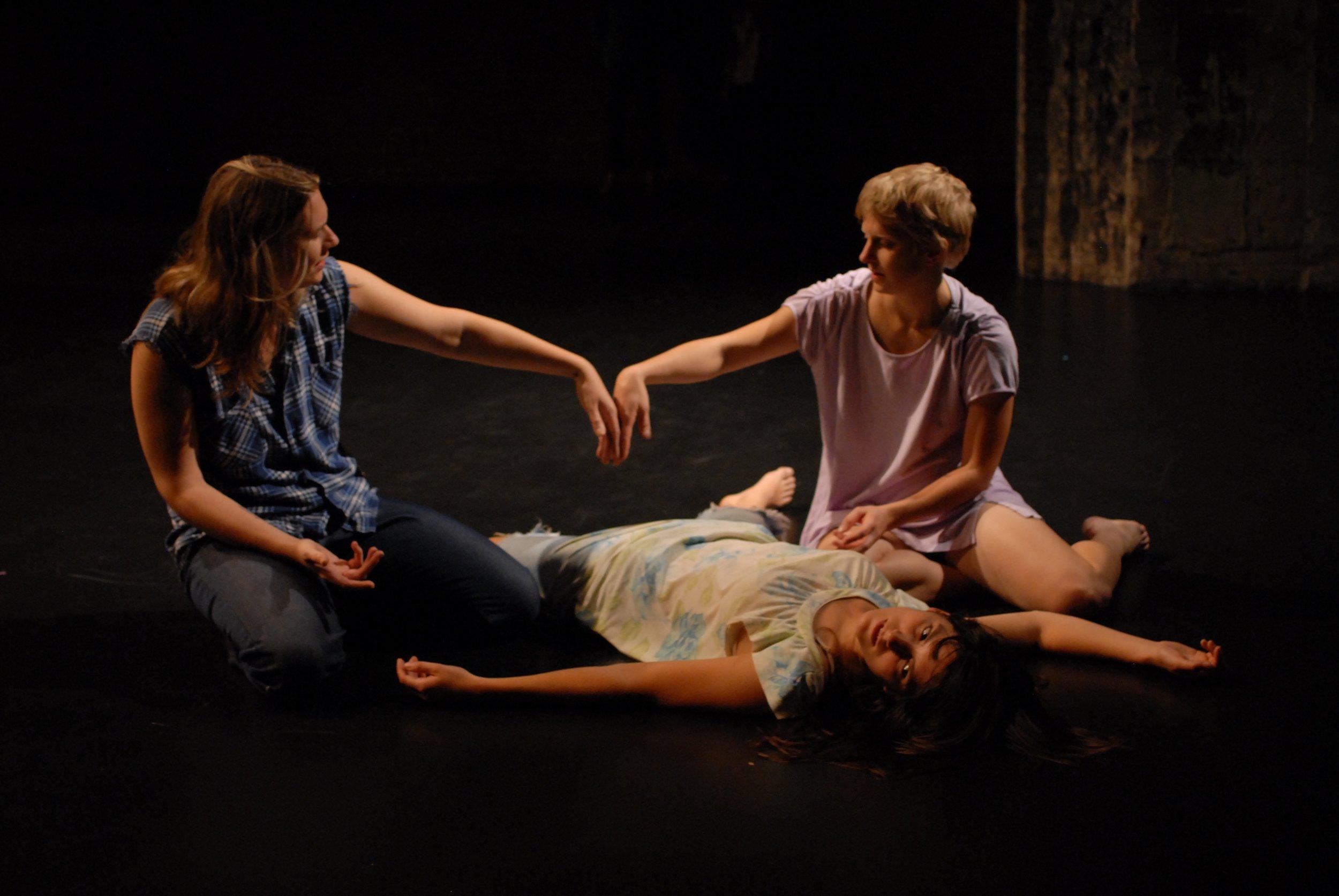 L to R: Joanna Furnans, Hannah Kramer, Anna Marie Shogren.