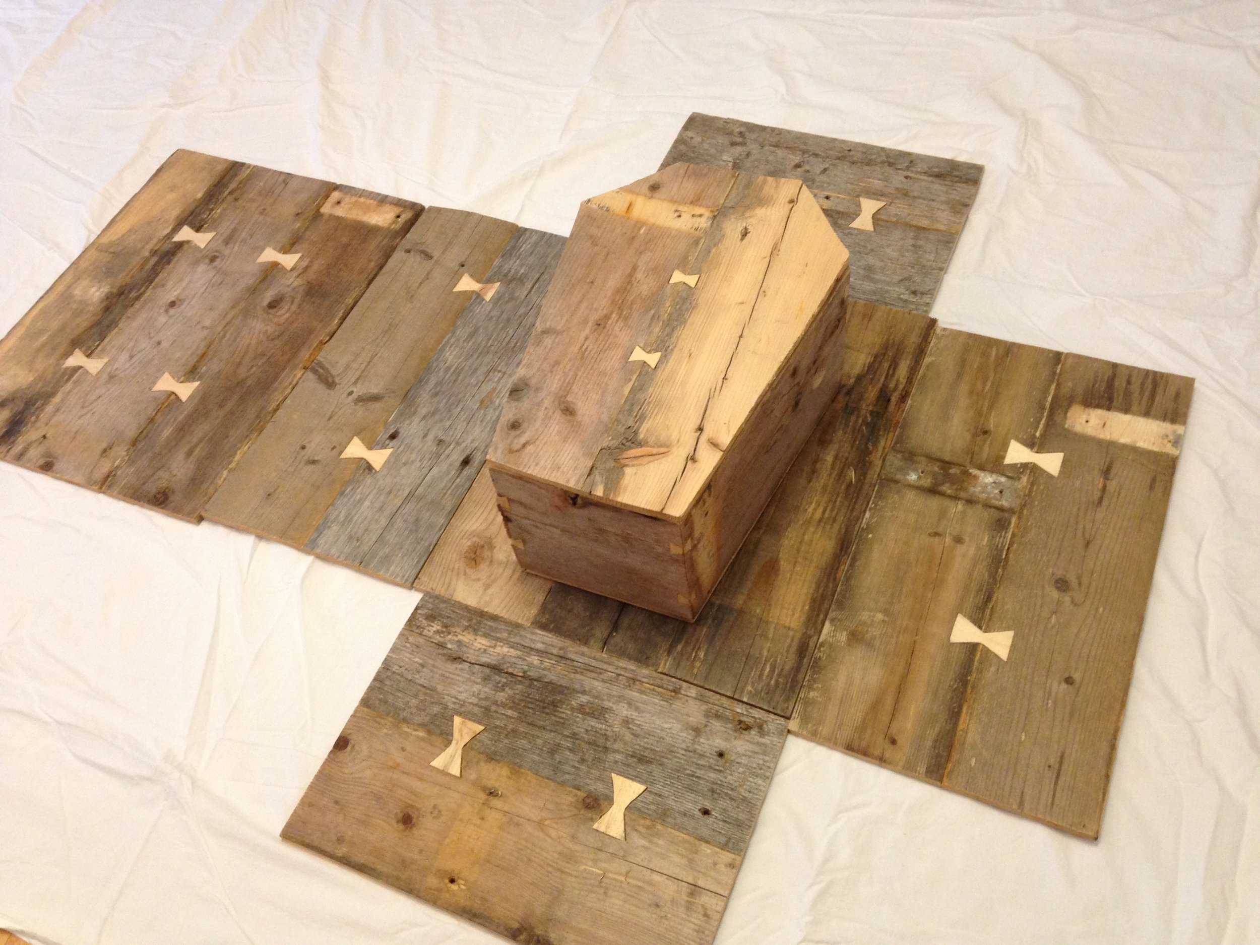 Box folds open