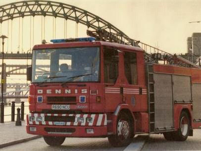 A Dennis Sabre operated by Tyne & Wear. Photo ADL