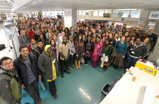 Young conservationists gathered at the Cambridge Student Conference.  Photo: Allison Stocks/Project Seahorse
