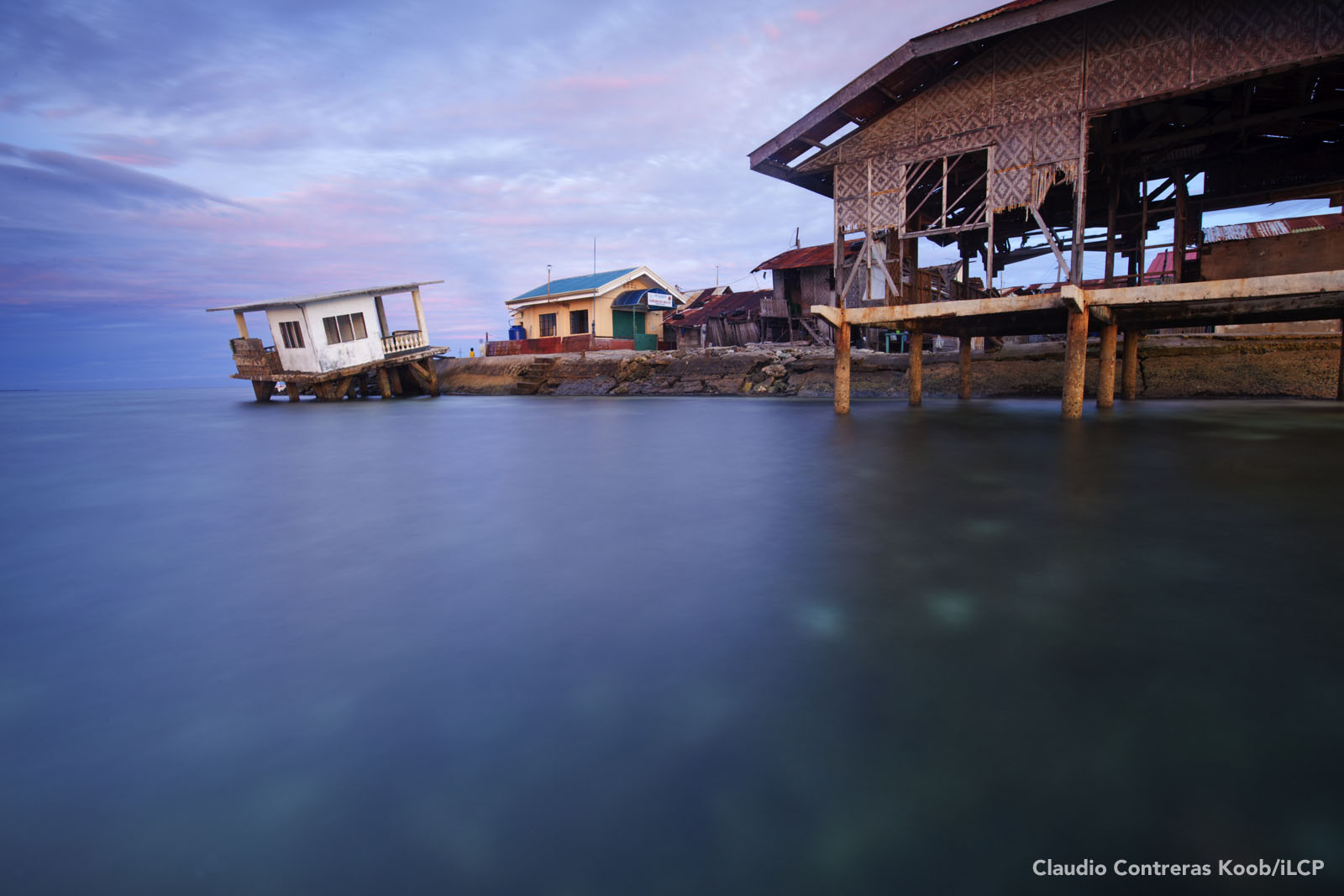 A fishing village spills out into the sea.  Claudio Contreras Koob/iLCP