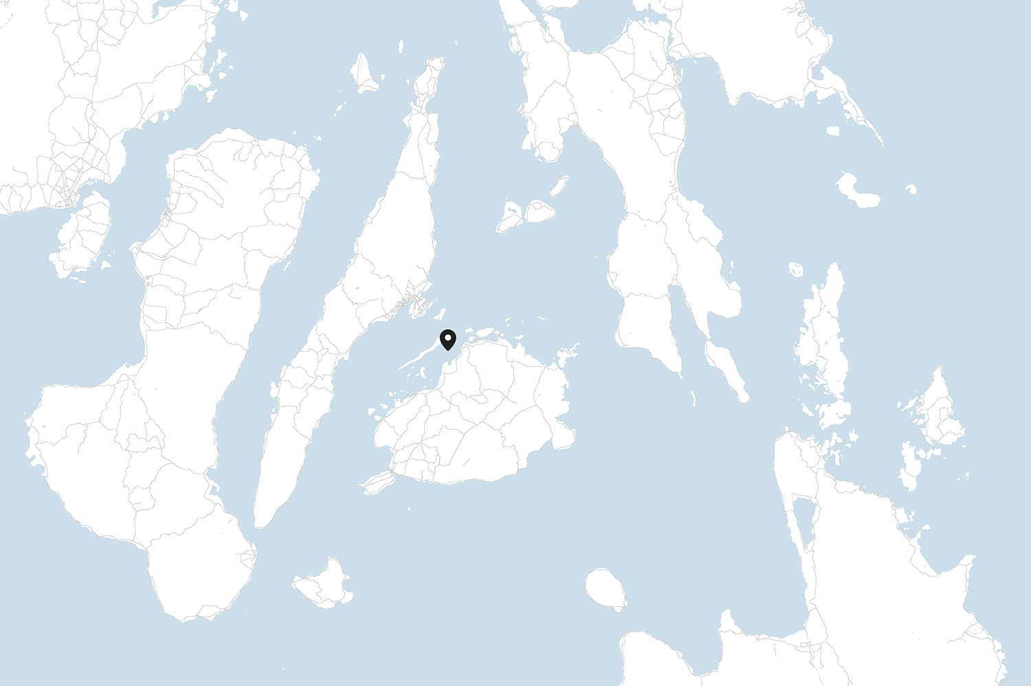 Danajon Bank is located on the north shore of Bohol Province in the central part of the Philippines.