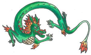 Dragon by Sonja Cox