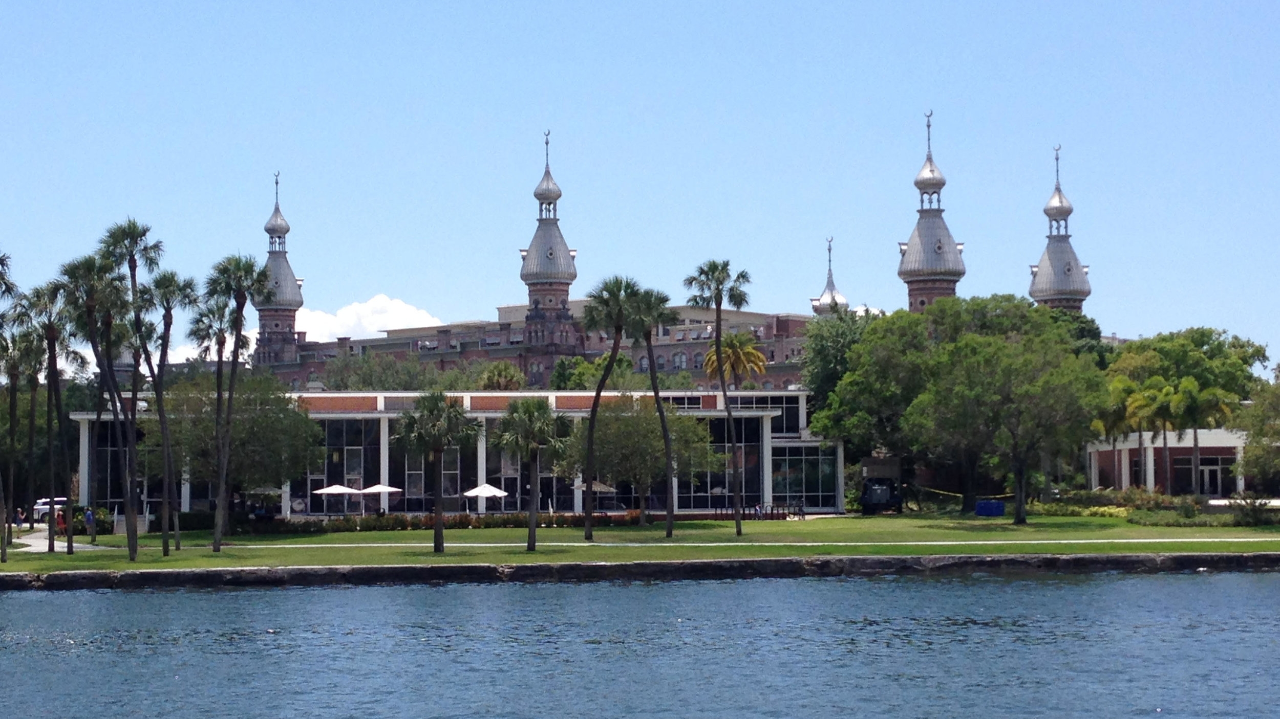The beautiful University of Tampa