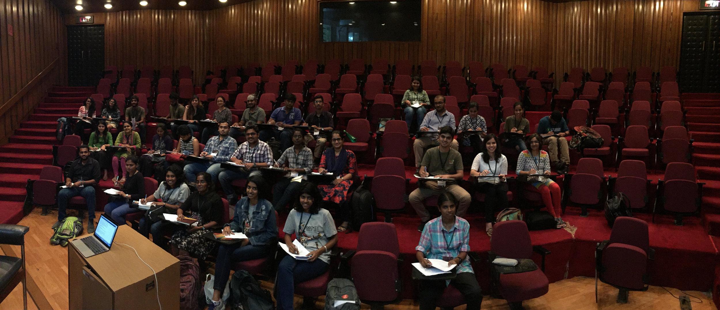 Marine policy workshop at SCCS Bengaluru - led by AV.jpg